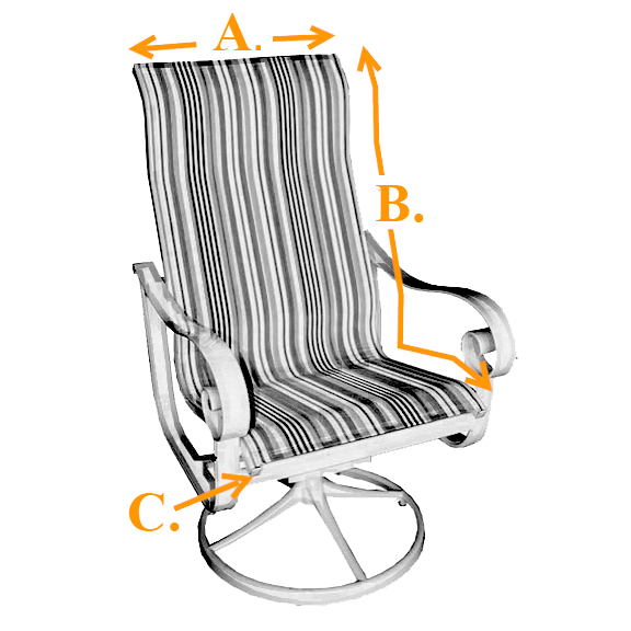 Sling Chairs, Sling Chair Material