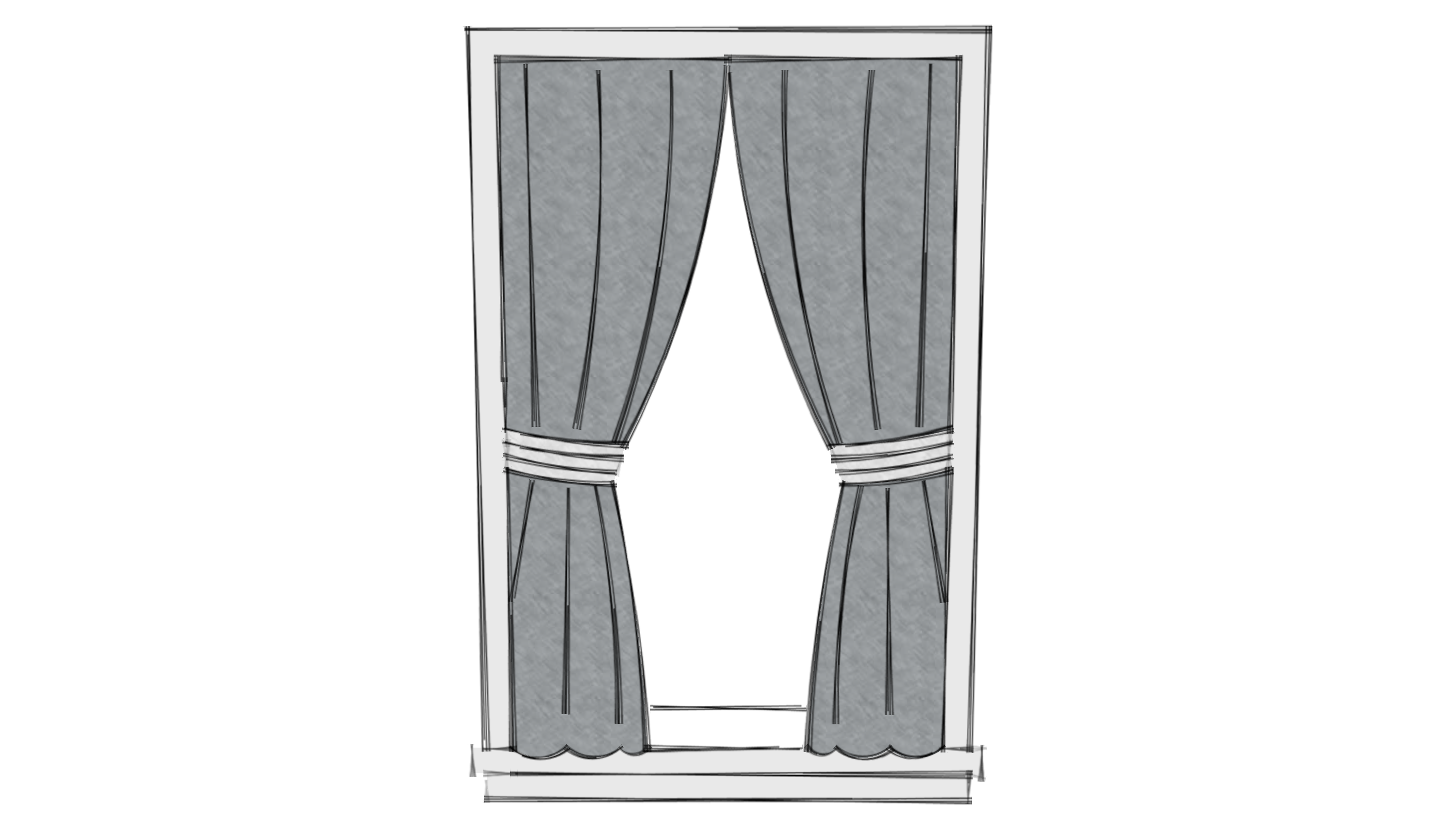 Window Curtain Calculator & Full Size Of Curtainfabric For